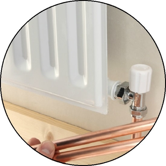 Heating installation service in London